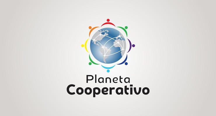 criação de logotipo planeta cooperativo