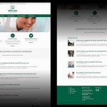 Design do Logotipo e desenvolvimento de site e material impresso