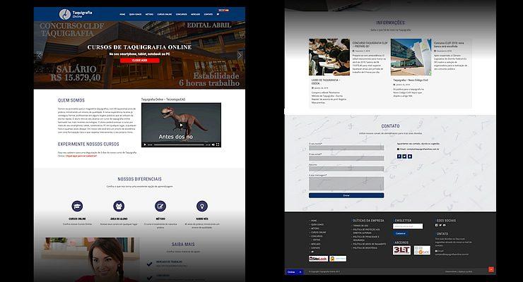 criação de site e sistema