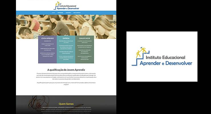 Desenvolvimento Logotipo e site