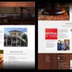 Desenvolvimento de material gráfico e site Martelli Advocacia