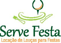criação do logotipo - serve festa locação