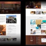 Desenvolvimento do site e material para redes sociais