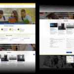 Criação de site e postagem redes sociais