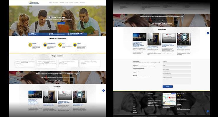 Gestão de Redes Sociais e montagem de site