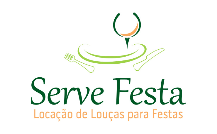Design Logotipo - Serve Festa