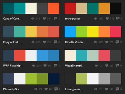 paleta cores site identidade visual