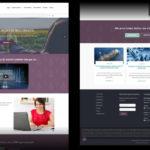 Desenvolvimento do site da Sym Investments