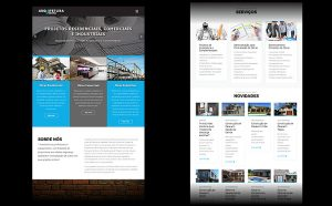 Desenvolvimento de site Arquitetura Urbana Porto Alegre