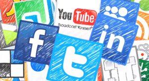 divulgação empresa redes sociais