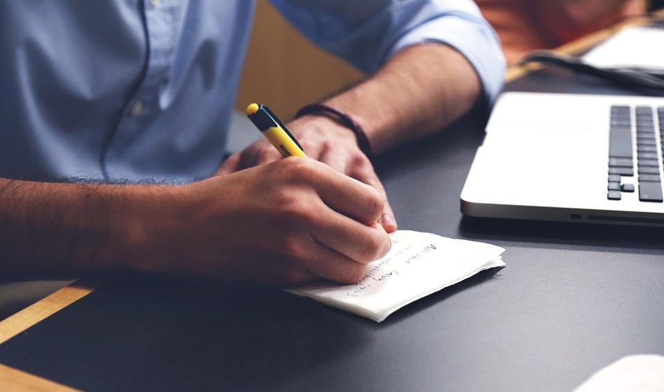 escrever posts legíveis