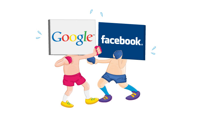 facebook ads x google adwords